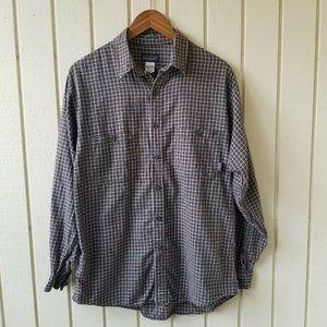 Patagonia Multicolor Check Print Button Down Shirt